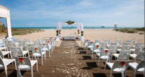 consejos que te ayudaran a la hora de celebrar tu boda en la playa