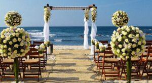 La mayoría de las playas no requieren de un permiso especial para la celebración de bodas